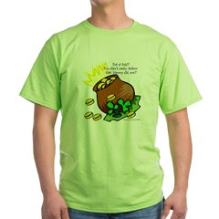 St. Paddys Pot of Gold Green T-Shirt