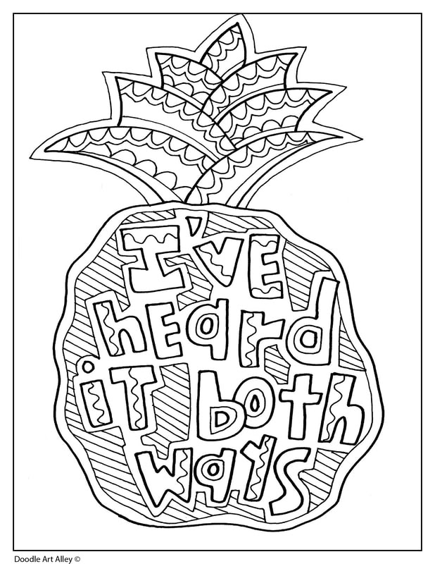 Aesthetic Quote Aesthetic Coloring Pages Printable - Daily Quotes