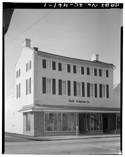 1.  GENERAL VIEW: NORTH (FRONT) ELEVATION - Saltus-Habersham House, 802 Bay Street, Beaufort, Beaufort County, SC