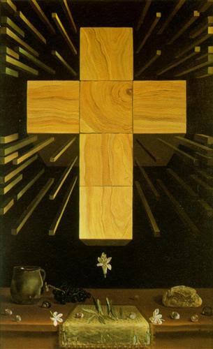 Arithmosophic Cross - Salvador Dali