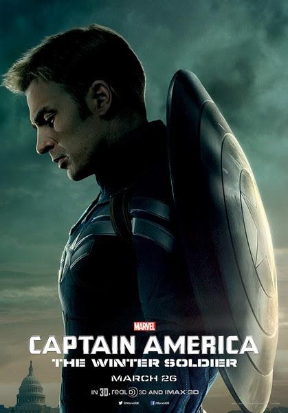 Captain America The Winter Soldier21 أكثر 20 فيلم تعرّضاً للقرصنة في 2014
