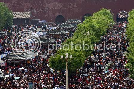 Pekin foule Chine
