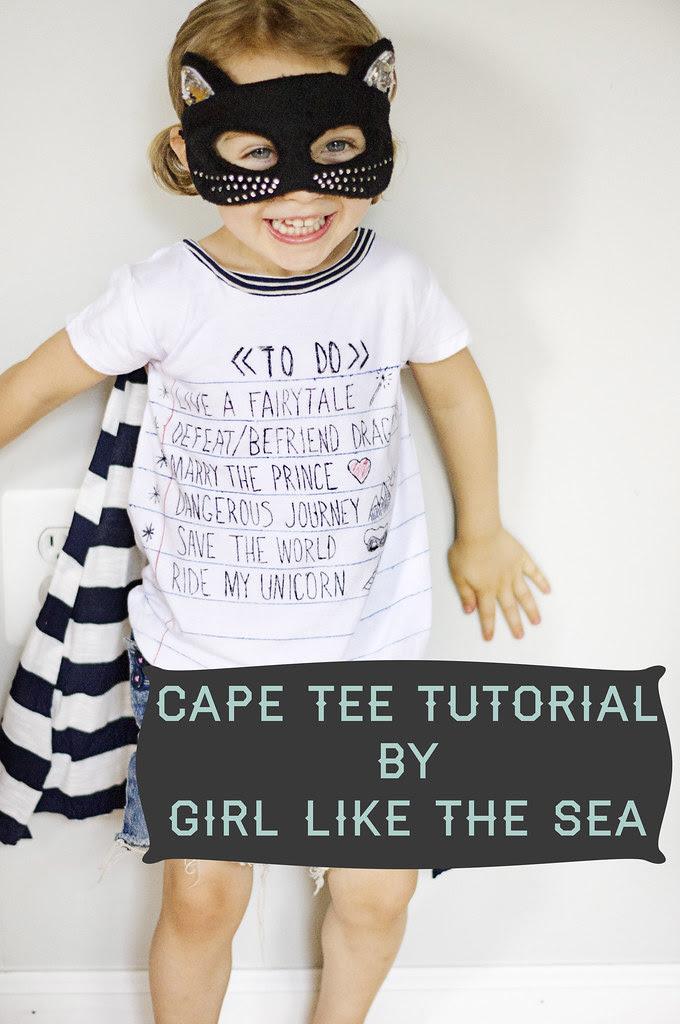 Cape Tee Tutorial