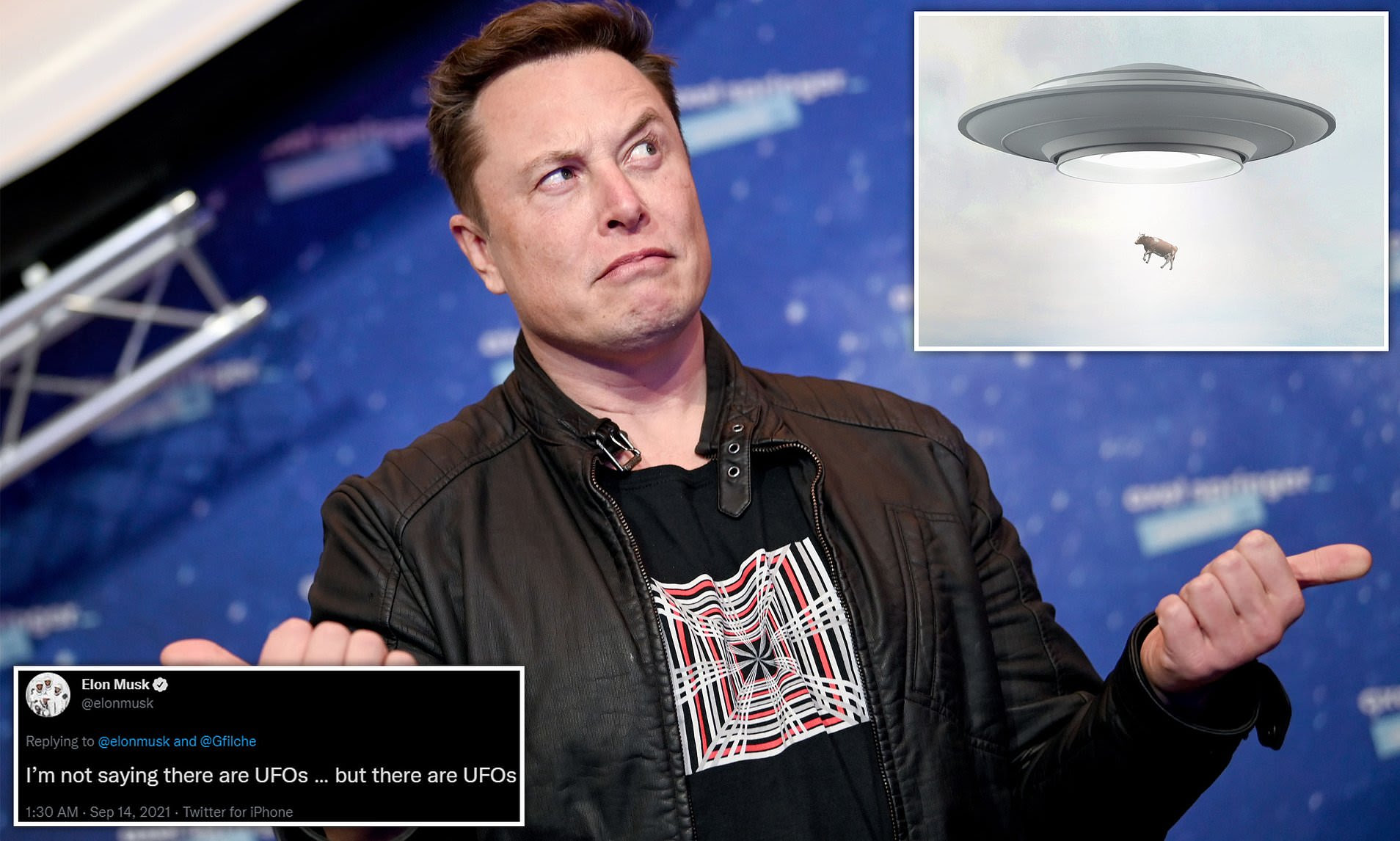Aliens? Elon Musk sparks a Twitter frenzy with claim that 'there are UFOs'