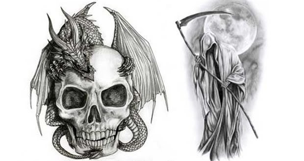Imagenes De La Santa Muerte Para Dibujar 13 Santisima Muerte