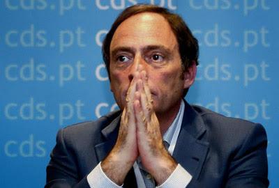 Fotografía de archivo del ministro de Exteriores de Portugal, Paulo Portas.