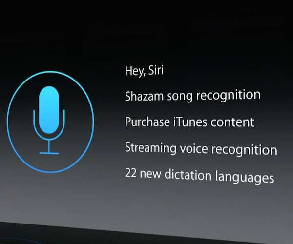 ​Always-on Hey Siri