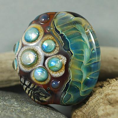lampwork glass bead