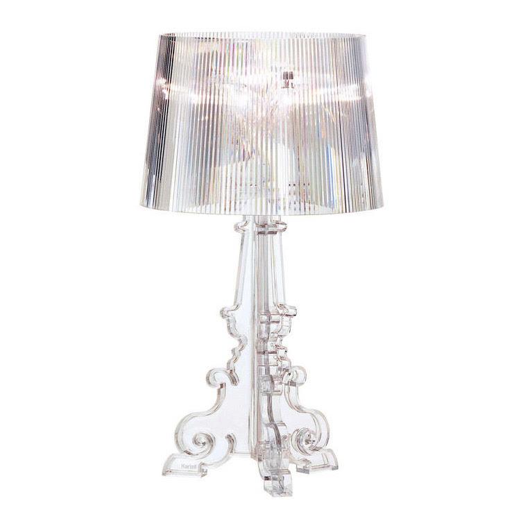 Bourgie lampe, krystall