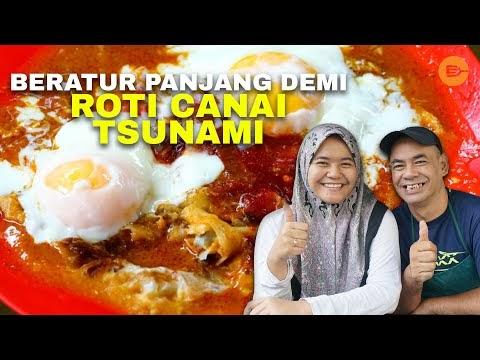 Roti Tsunami Pak Ali - Roti Canai Banjir Special | iCookAsia