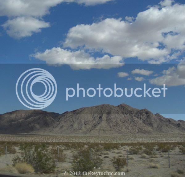 California desert, Hwy 15