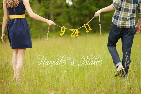 BANNER Save The Date Wedding Bride Groom Spring Wedding Rustic Farm House Beach Cottage Shabby chic