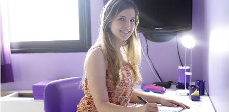Dificuldade de Camila era o início do texto / Igo Bione/JC Imagem