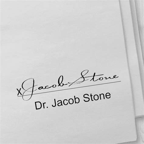 Doctor Signature Stamp   Simply Stamps