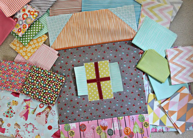 Princess quilt beginnings
