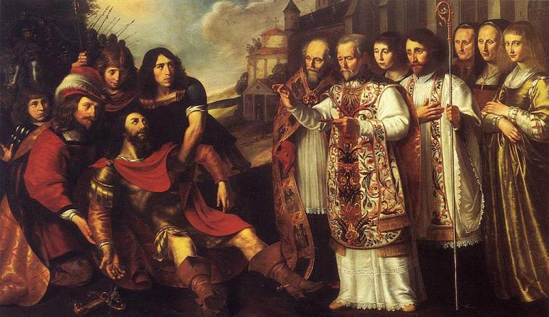 São Bernardo converte Guilherme, duque de Aquitania