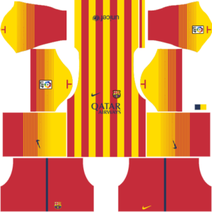 Barcelona Kits 2013/2014 Dream League Soccer - Barcelona ...