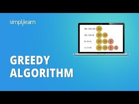 Greedy Algorithm | What Is Greedy Algorithm? | Introduction To Greedy Algorithms | Simplilearn