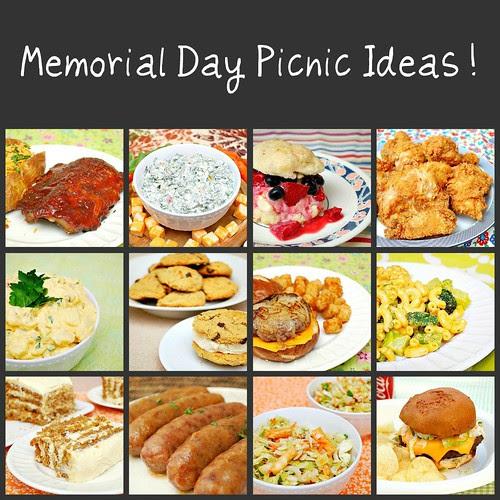 Memorial Day Picnic Ideas!
