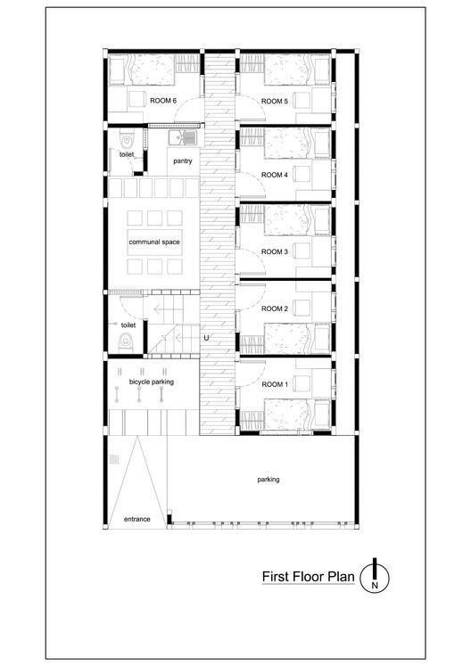 Boarding House Design Architecture Minimalist Home Design