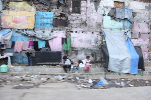 This Was A Bustling Street  Slum I Shot Now It Exists No More ..Slumbai-Mumbai by firoze shakir photographerno1