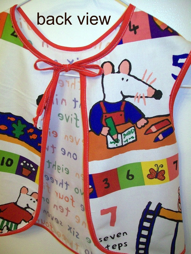 Childs Apron or Smock - Size Small - My Friend Maisy