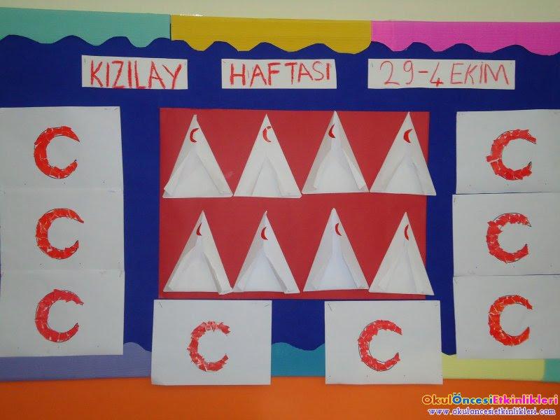 Kızılay Haftasında Nasıl Bir Kutlama Yapabilirim Okul öncesi