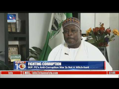 I Am Part Of Aso Rock Cabal In Buhari's Gov't – SGF, Babachir Lawal (Watch Video)