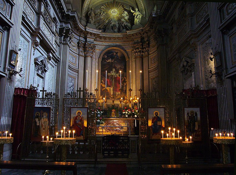 File:Ss Vincenzo e Anastasio - altar maggiore e iconostasi 1150868.JPG