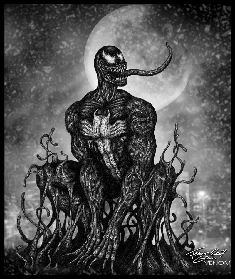 Marvel Comics : Venom by Francisgenois on DeviantArt