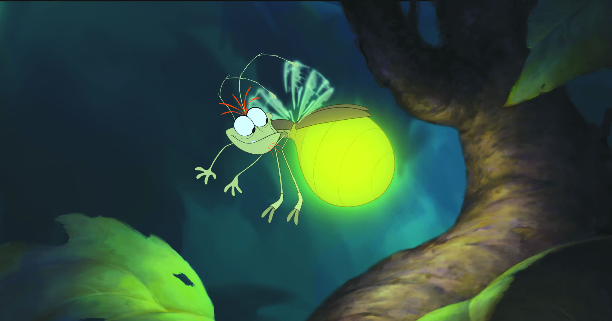 Ray The Lightning Bug From Disney S Princess And The Frog Desktop