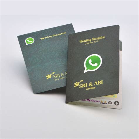 Whatsapp invitation cards online friends wedding card
