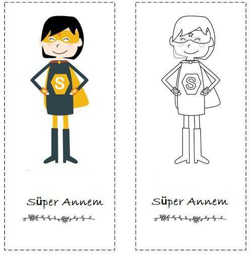 Süper Anne Etkinlikleri Okul öncesi Etkinlik Faliyetleri