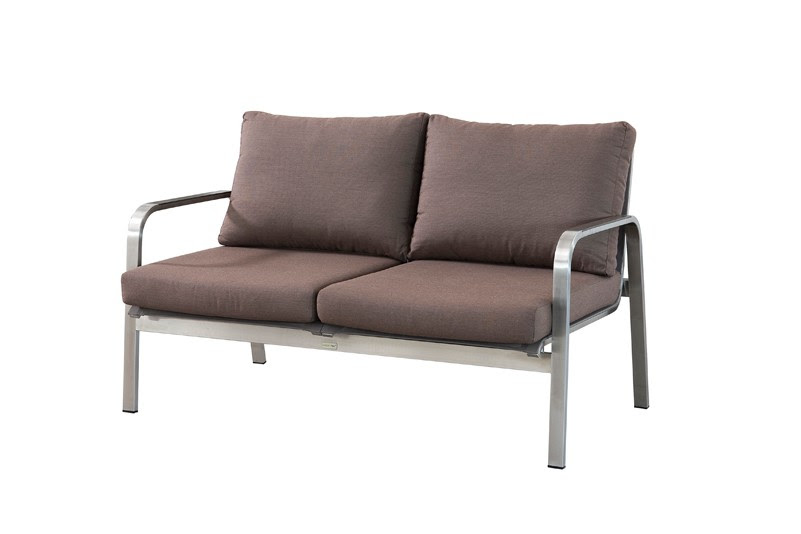 Products Sofa Simple Design Garden Stainless Steel Sofa