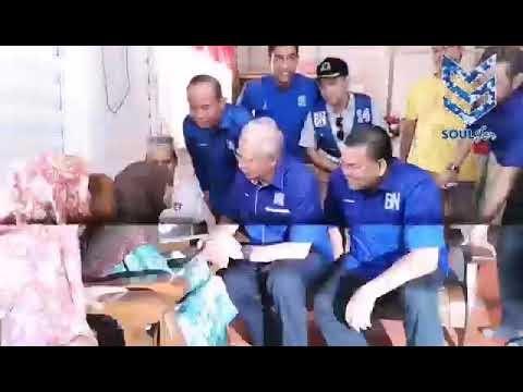 Warga Emas Luahkan Rasa Rindu Menatap Wajah DS Najib Razak #PRKSgKandis