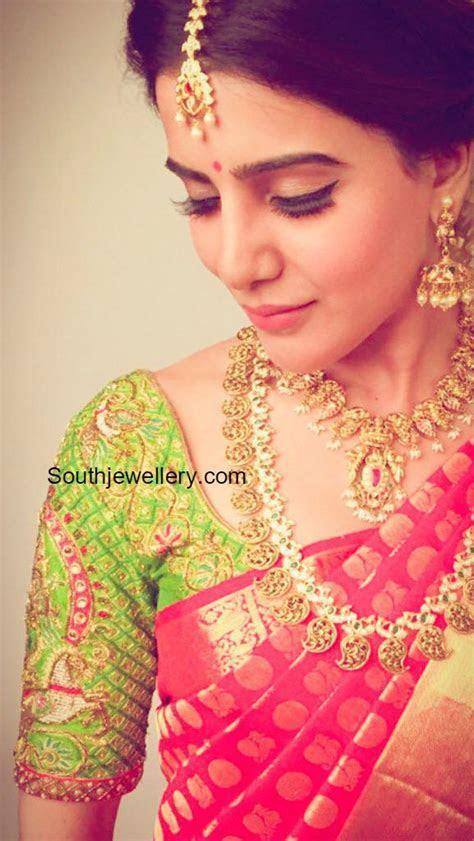 Samantha Prabhu in Traditional Jewellery photo   saree and