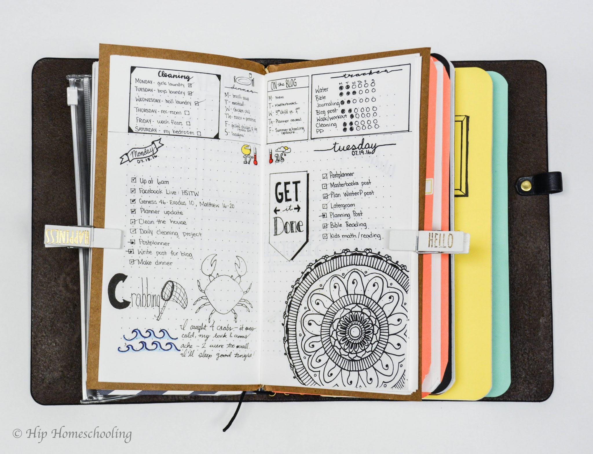 Image result for traveller notebook planner