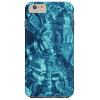 Blue Water Ripples iPhone 6 Plus Tough Case Tough iPhone 6 Plus Case