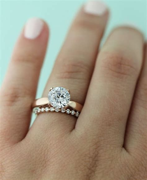 17 Best images about Rose Gold Rings on Pinterest   Rose