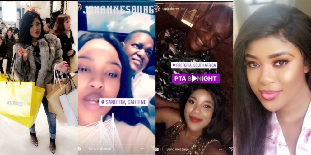 Image result for Meet slay queen causing commotion between the two sons of Mugabe (Photos)
