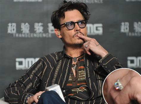 johnny depp confirms engagement  amber heard shows