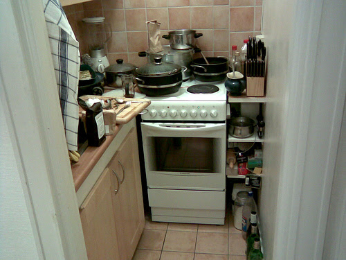Small Kitchen Mentality | paris in my pocket