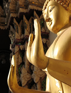 Buddha image at Naka Temple