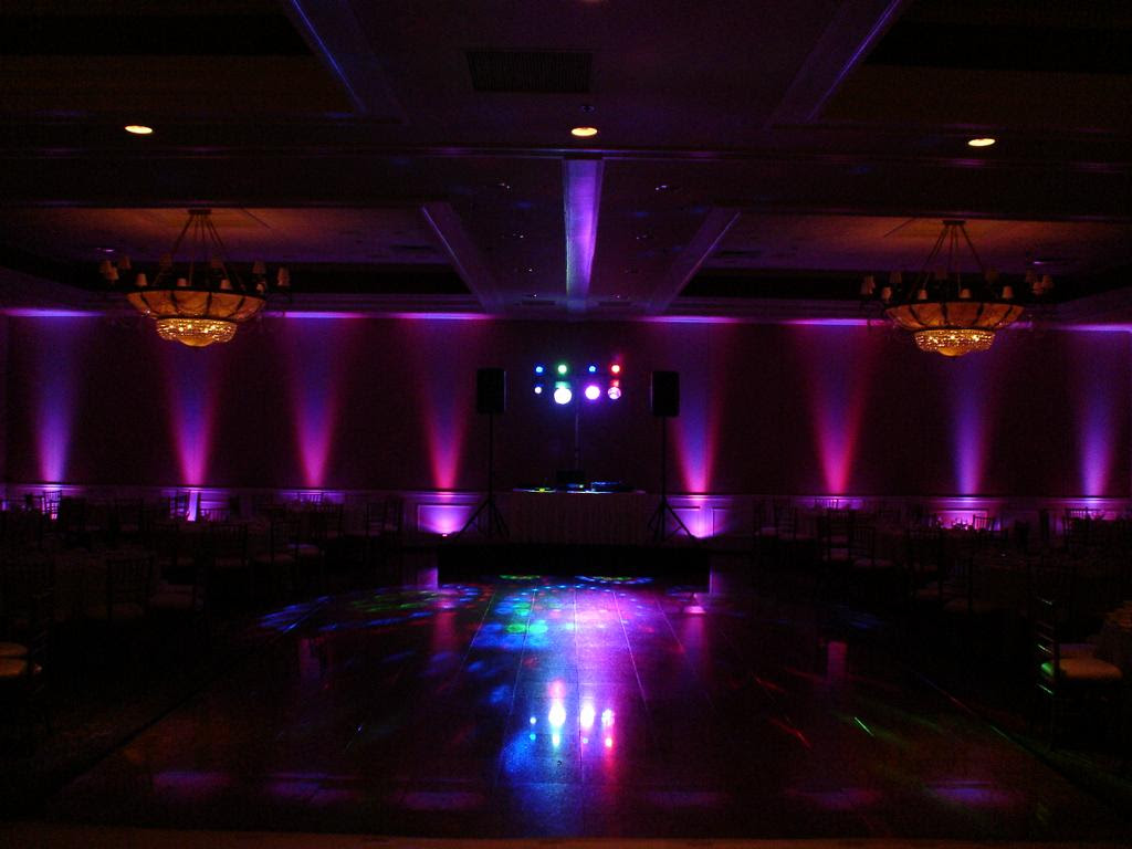 Picture: Elegant room decor lighting provided by Stax O Wax DJ ...