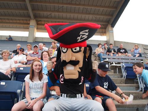 Captain Jack, Shreveport-Bossier Captains Baseball, Shreveport, LA by sbctb