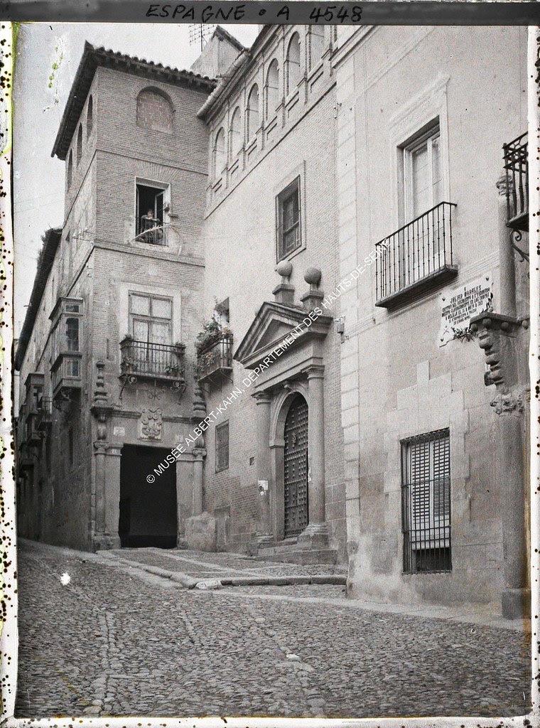 Capilla de San José entre el 15 y el 17 de junio de 1914. Autocromo de Auguste Léon. © Musée Albert-Kahn - Département des Hauts-de-Seine