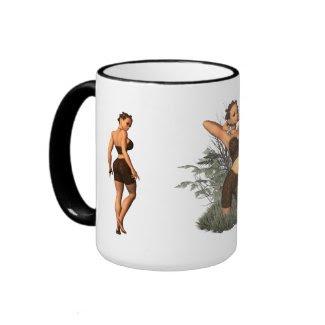 The Big Butt Elf Coffee Mugs