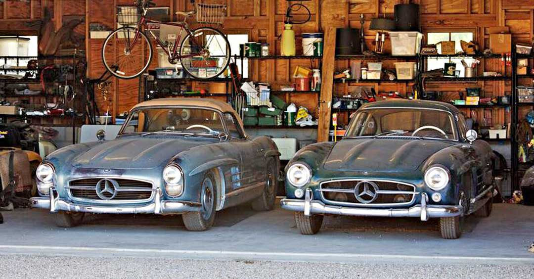 Very Rare Find Uncovered: Mercedes-Benz 300 SL Gullwing ...