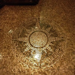 How To Tile A Floor With Pennies Patio Supply Outdoor Living