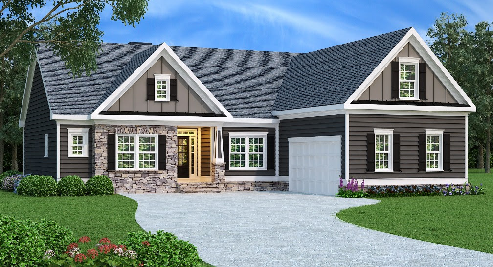 Ranch - Country Home with 3 Bdrms, 1732 Sq Ft | House Plan ...